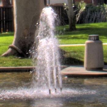 multiple exposure fountain