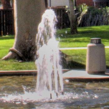 single exposure fountain